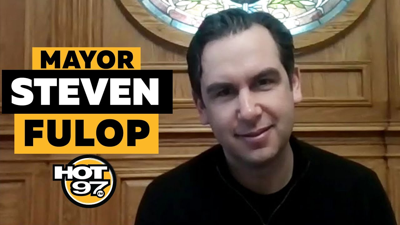 Jersey City Mayor Steven Fulop On Response To COVID-19 Outbreak, Local Restaurants & Economy