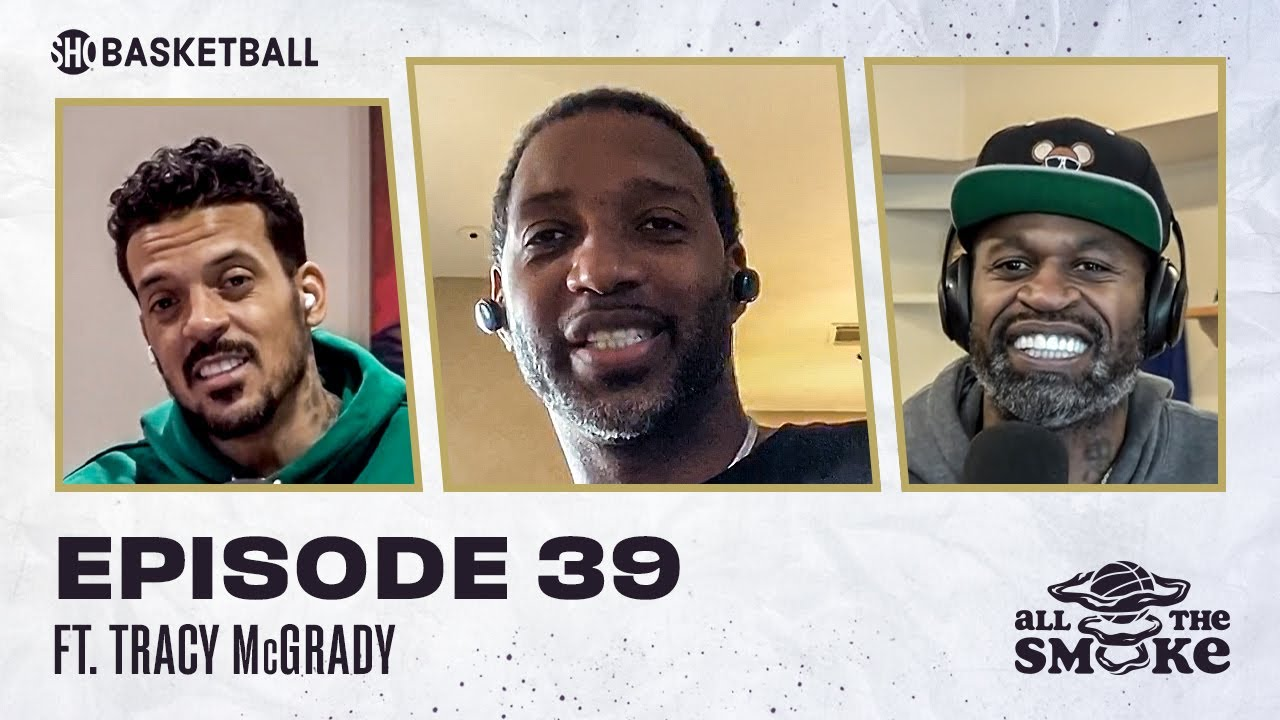 Tracy McGrady | Ep 39 | ALL THE SMOKE Full Episode | #StayHome with SHOWTIME Basketball