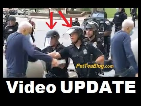 75 Year Old Pushed to Ground by 2 Cops, All 57 Officers QUIT because of it ❌ (Video)