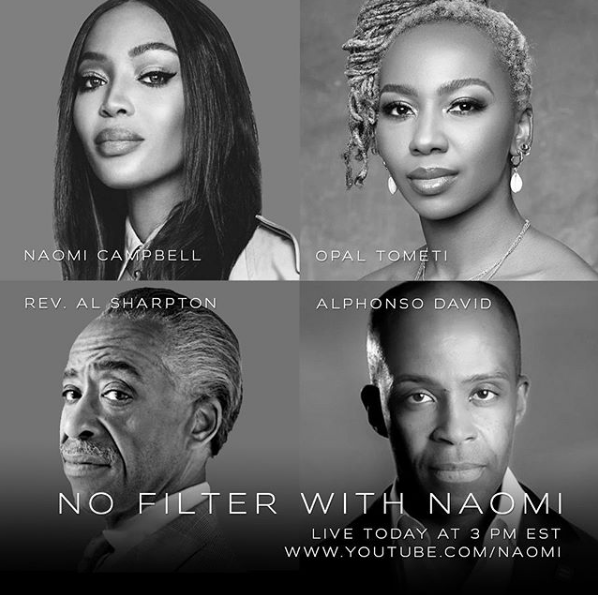 """NAOMI CAMPBELL RETURNS WITH THE SECOND SEASON OF """"NO FILTER"""" WITH NAOMI"""