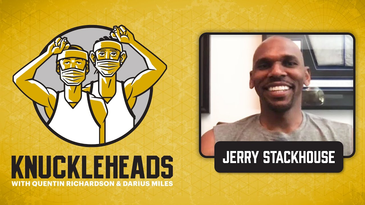 Jerry Stackhouse aka Stack Joins Q and D | Knuckleheads Quarantine: E3 | The Players' Tribune
