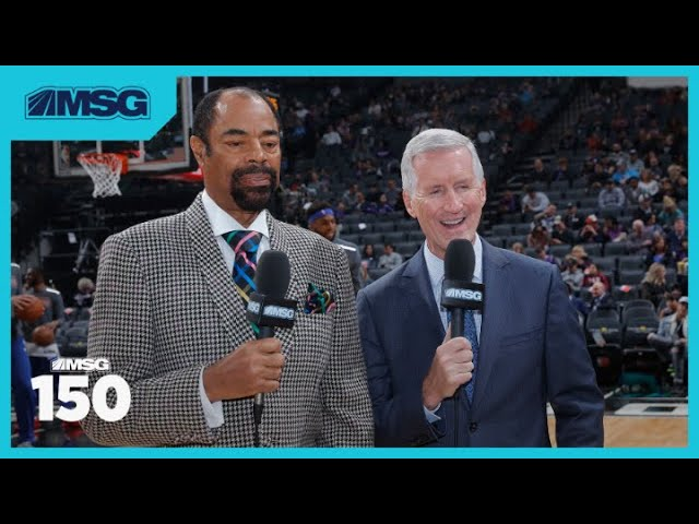 Mike Breen Elected Into Basketball Hall of Fame   MSG 150