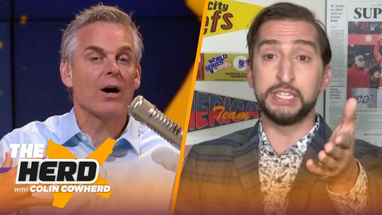 Rockets have 2nd best chance at title, talks Jimmy G & Lamar & Mahomes — Nick Wright | THE HERD