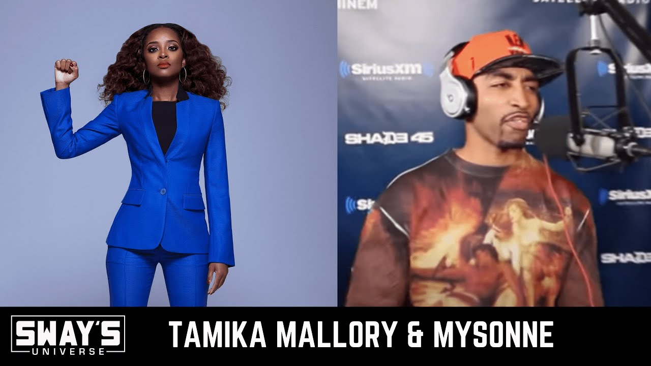 Tamika Mallory & Mysonne Give And Update From The Front Lines of Protests   SWAY'S UNIVERSE
