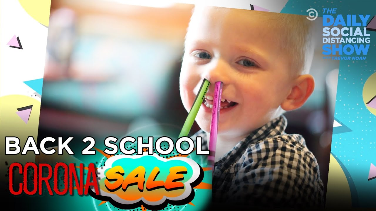 Back to School: Corona Sale! | The Daily Social Distancing Show