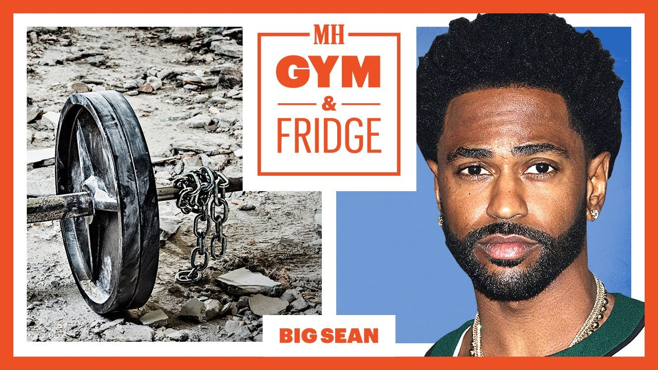 Big Sean Shows His Home Gym & Fridge   Gym & Fridge   Men's Health