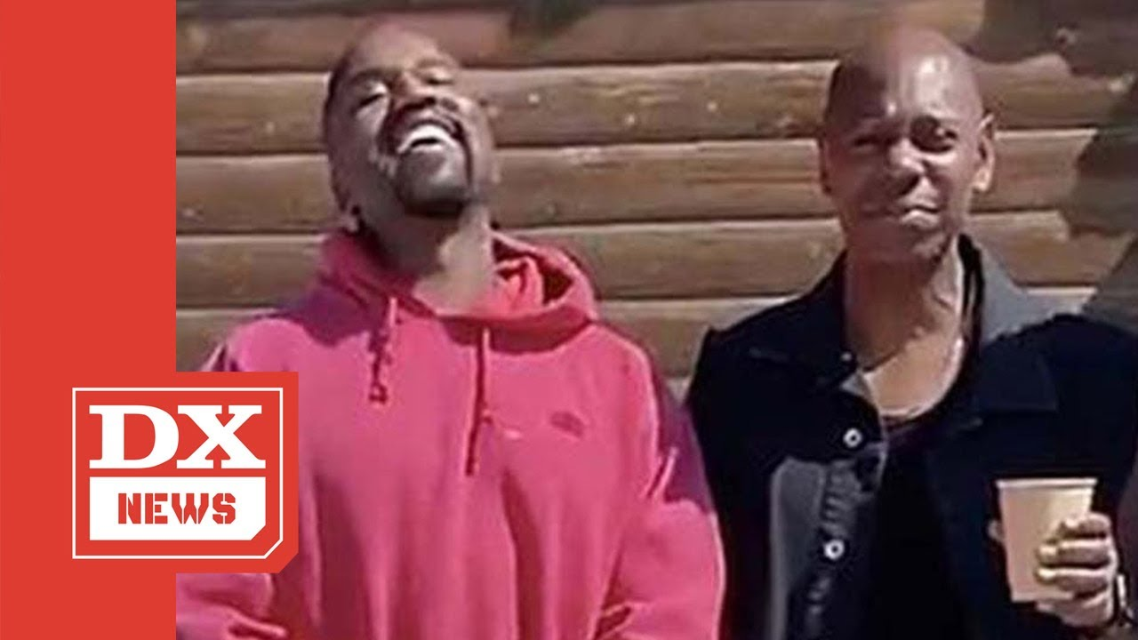 Dave Chappelle Rushes To Kanye West's Side In Wyoming