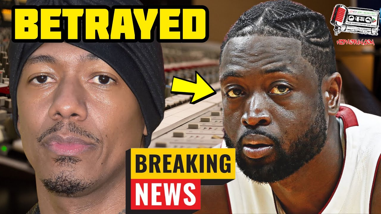 Dwyane Wade Throws Nick Cannon Under The Bus After Backlash For Tweet Supporting Nick!