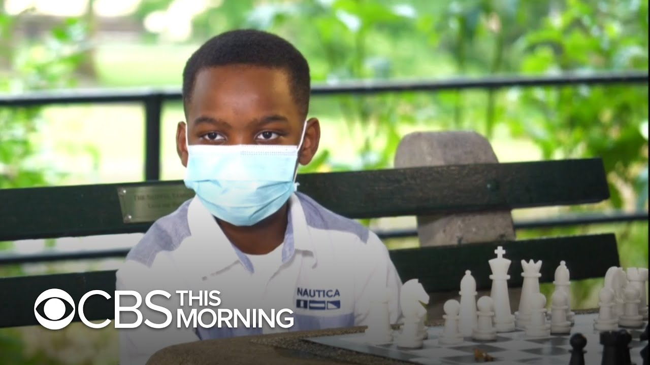 Formerly homeless 9-year-old chess prodigy shares inspirational story in new book