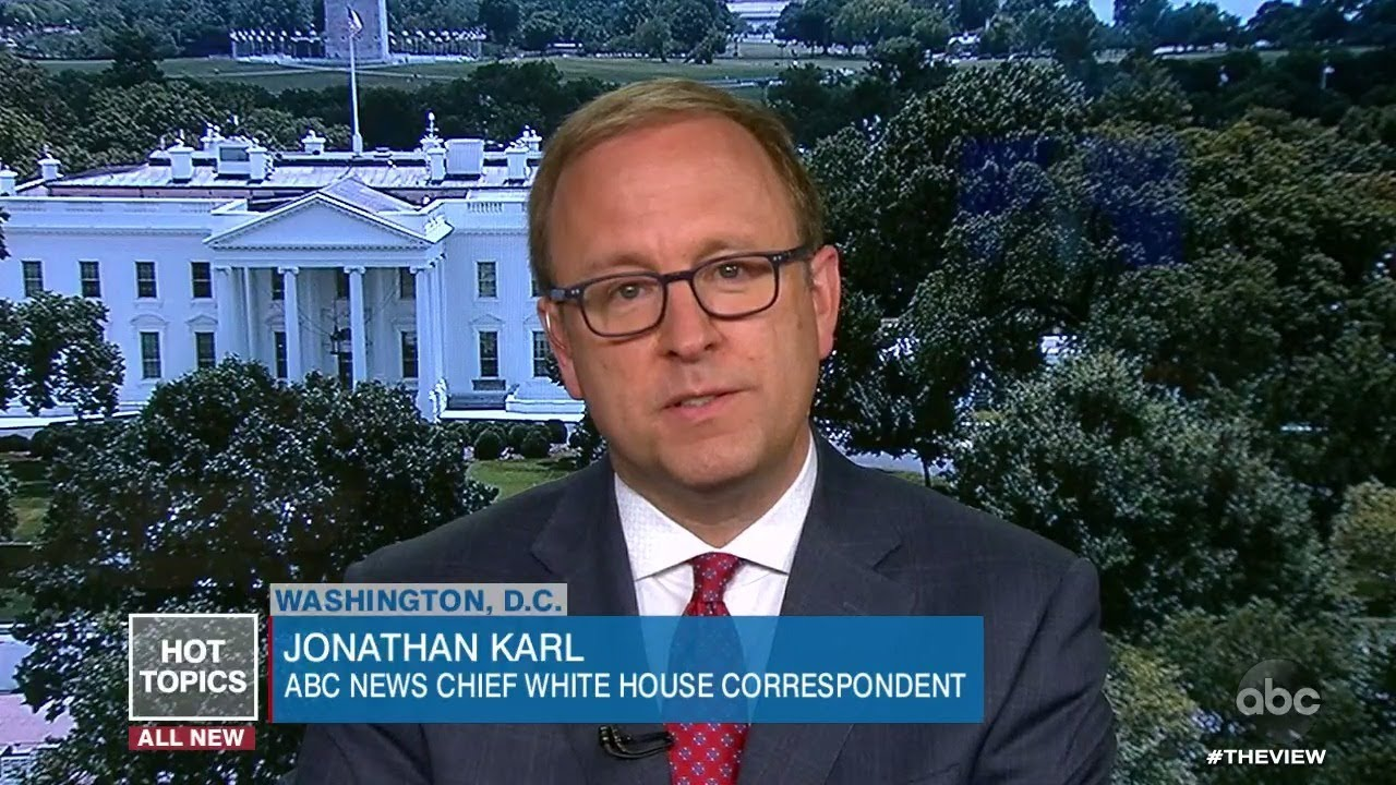 Jonathan Karl Discusses the White House Distancing Themselves from Fauci | The View