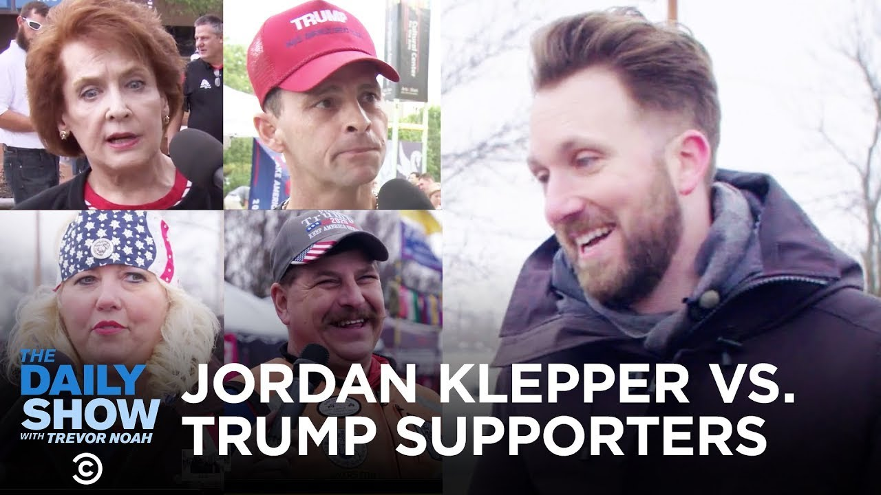 Jordan Klepper vs. Trump Supporters | The Daily Show
