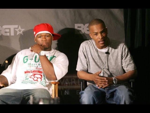 LMAO: 50 Cent Responds to T.I.'s Challenge
