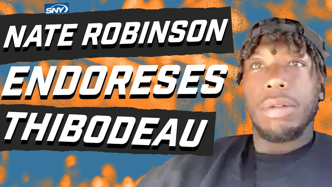 Nate Robinson endorses Tom Thibodeau for the Knicks head coaching job | New York Knicks | SNY