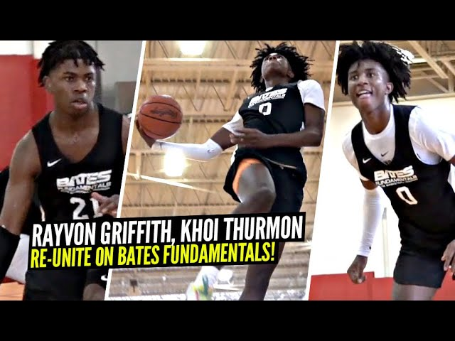 Rayvon Griffith & Khoi Thurmon RE-UNITE on LOADED Bates Fundamentals Squad!!