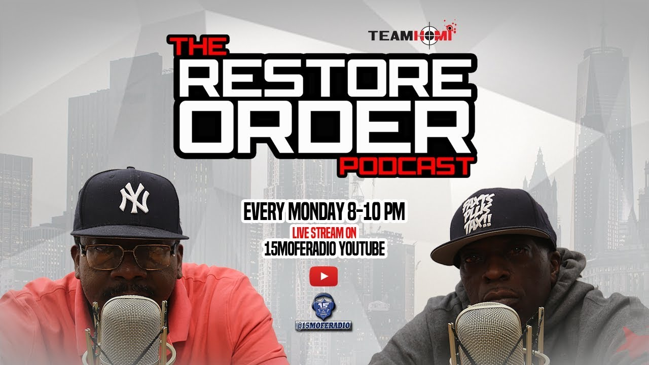RESTORE ORDER PODCAST (LET'S TALK ABOUT THESE TSU SURF EDITS)