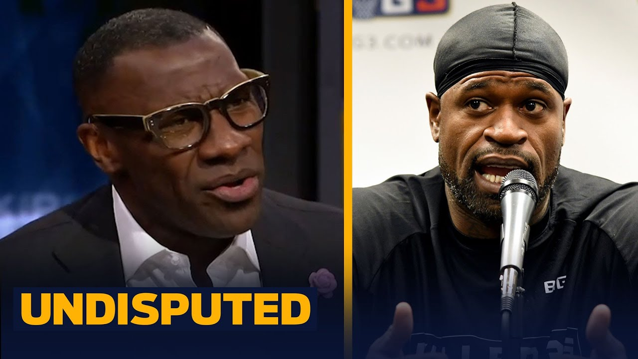 Shannon reveals his conversation with Stephen Jackson following his defense of DeSean | UNDISPUTED