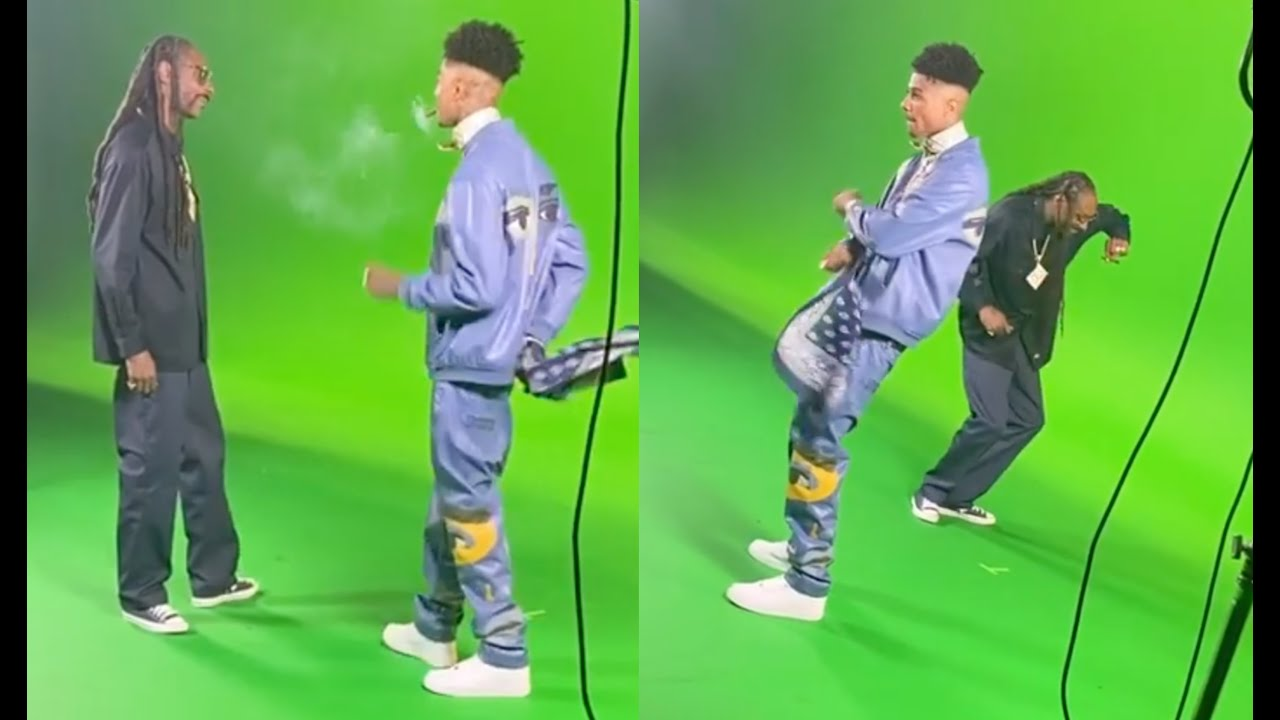 Snoop Dogg Schools Blueface How To Crip Walk Like A Real G