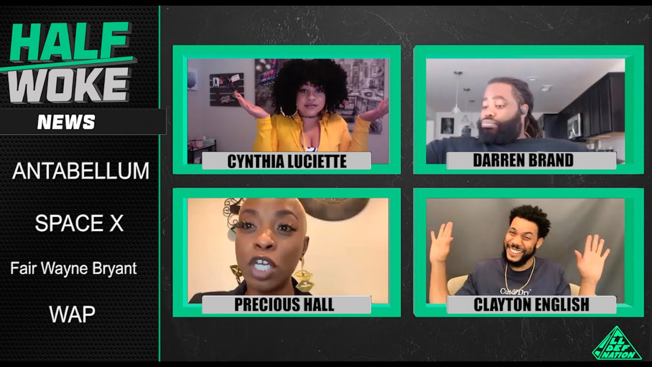 Another Slave Movie, Flying Cars, WAP Problems | Half Woke News | All Def