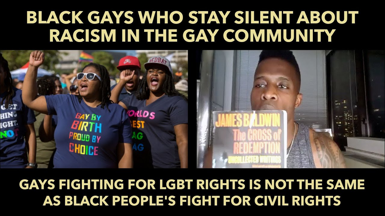 Black Gays Who Stay Silent About Racism in the Gay Community
