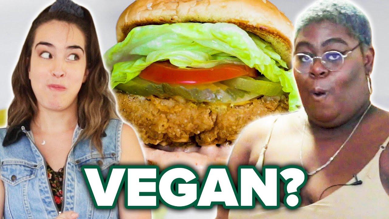 Can A Vegan Fried Chicken Sandwich Satisfy A Fried Chicken Sandwich Lover?