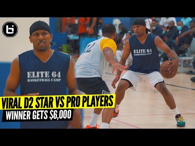 D2 Player Goes Off VS Pro Players for $6,000 Winner Takes All! Jordan Stevens Is Too Nice