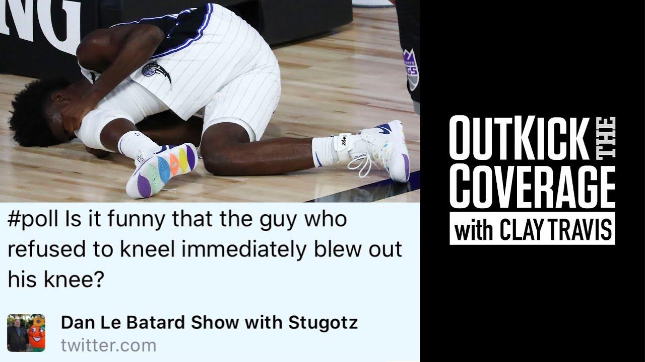 Dan Le Batard Makes Tasteless Poll After NBA Player Suffers Injury | Clay Travis