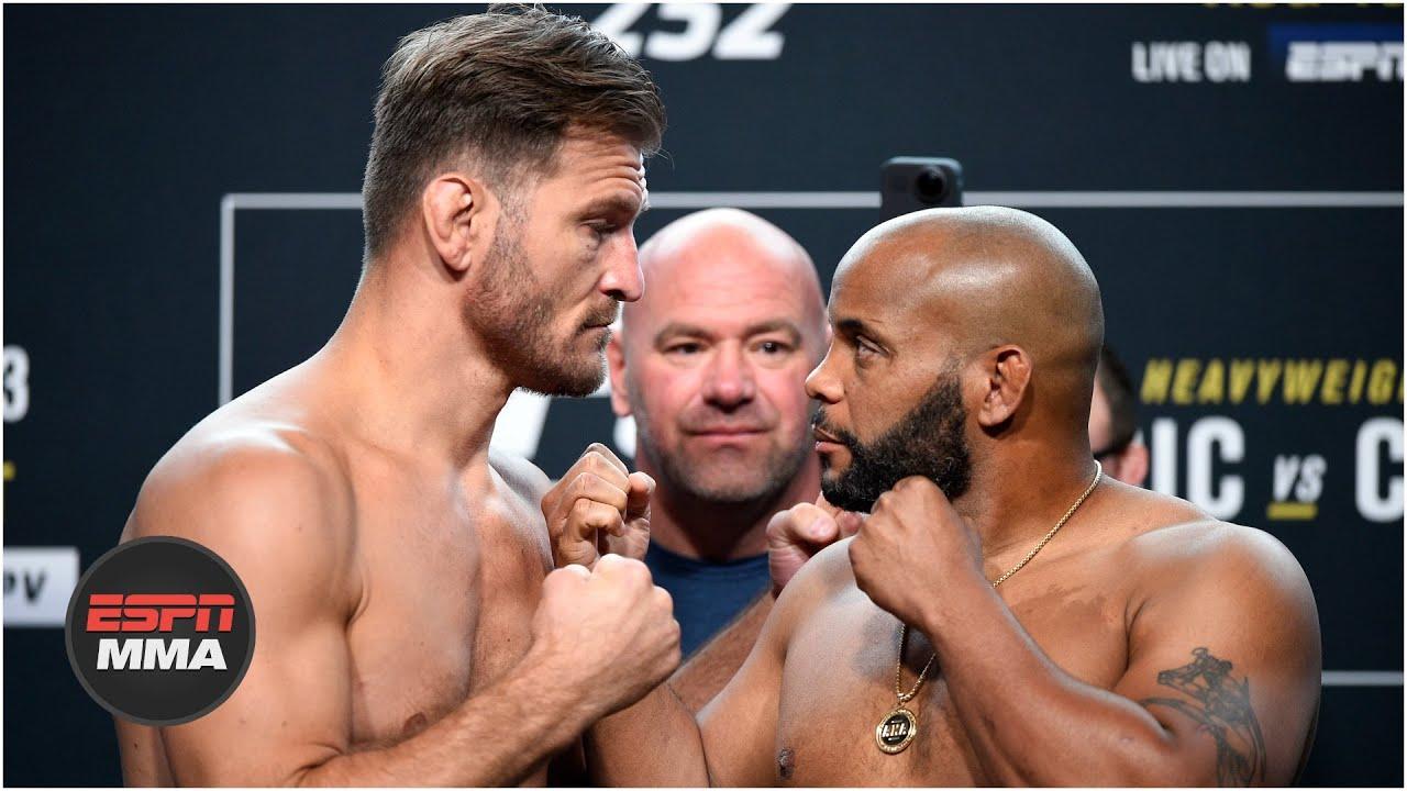 Dana White says Stipe Miocic vs. Daniel Cormier trilogy fight is the perfect storm   ESPN MMA