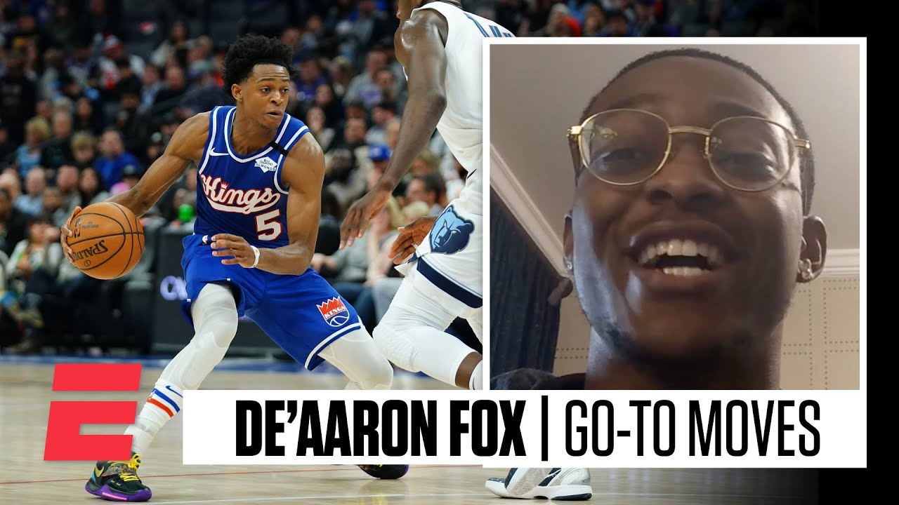 De'Aaron Fox breaks down his go-to moves on the court with Mike Schmitz | NBA on ESPN
