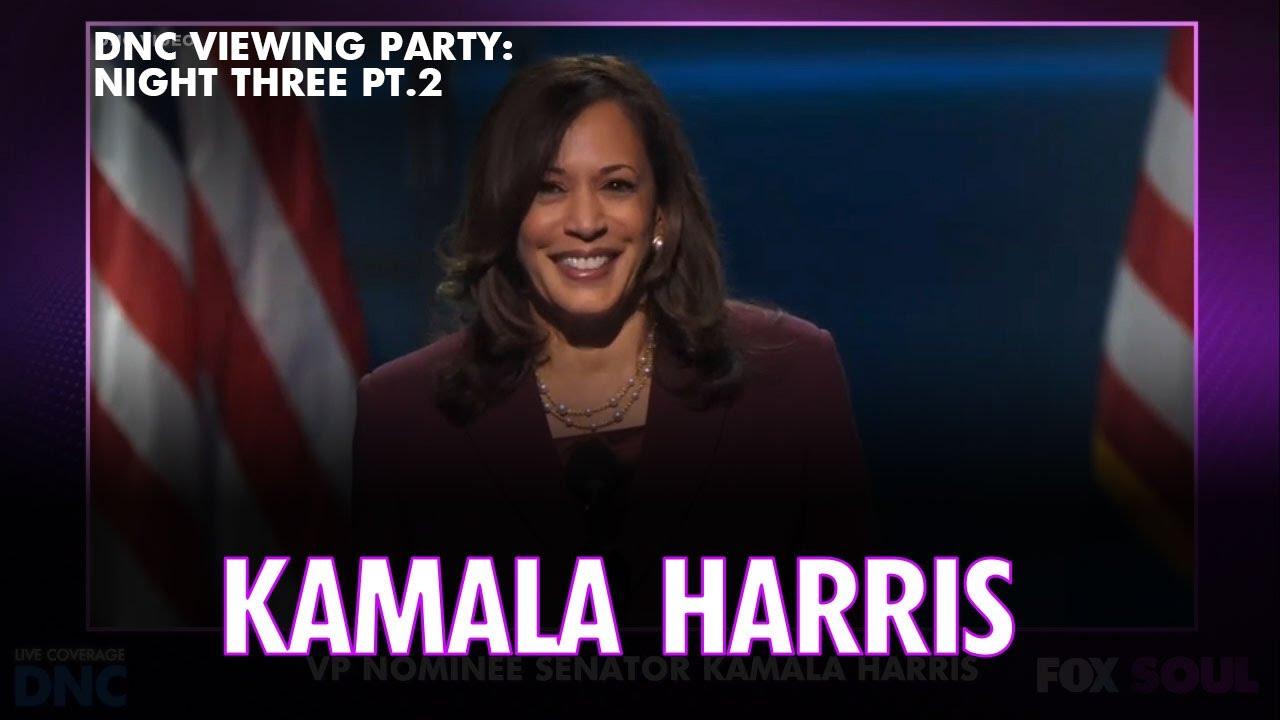 DNC Night Three: Kamala Harris, Barack Obama, Nancy Pelosi & More | DNC LIVE Viewing Party