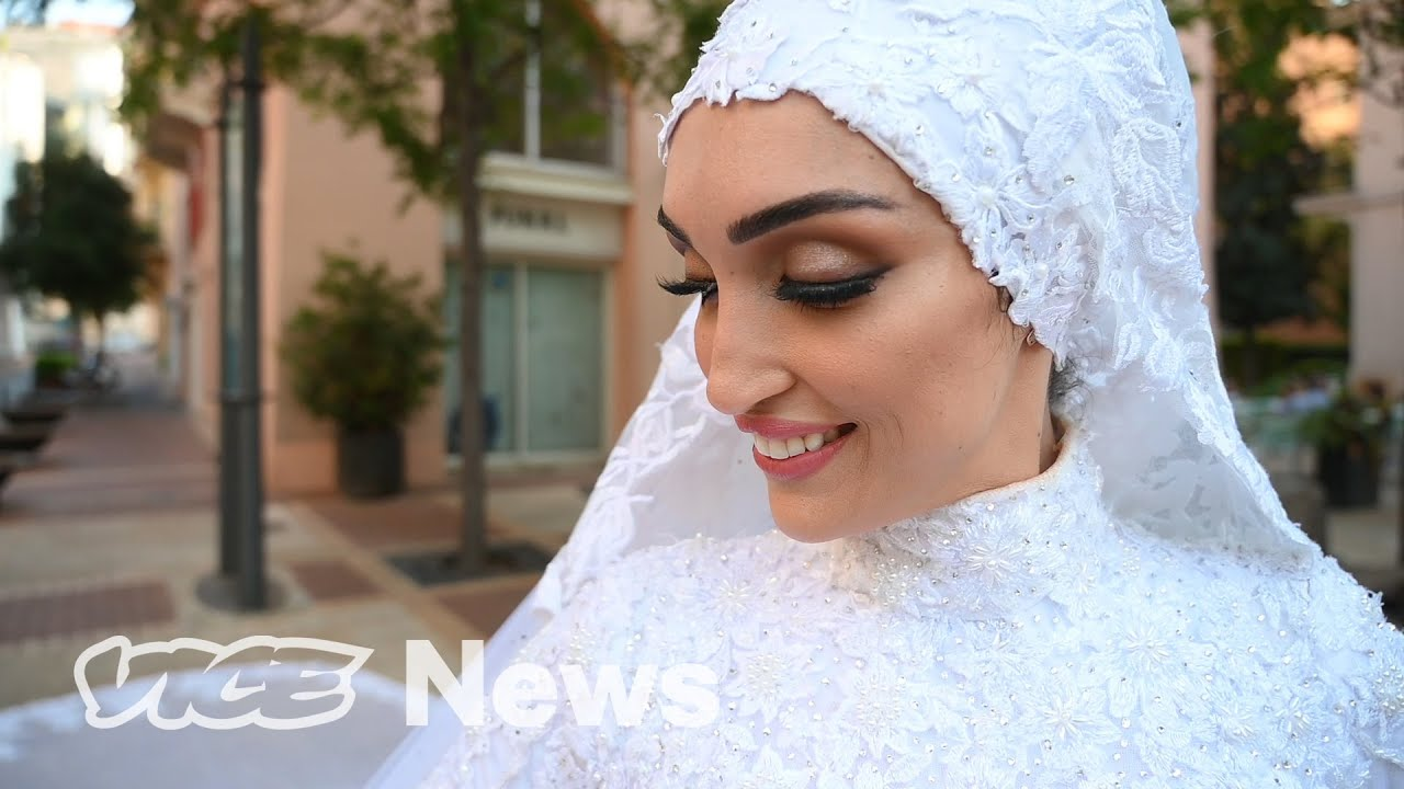 Her Wedding Video Caught Beirut's Deadly Explosion on Camera