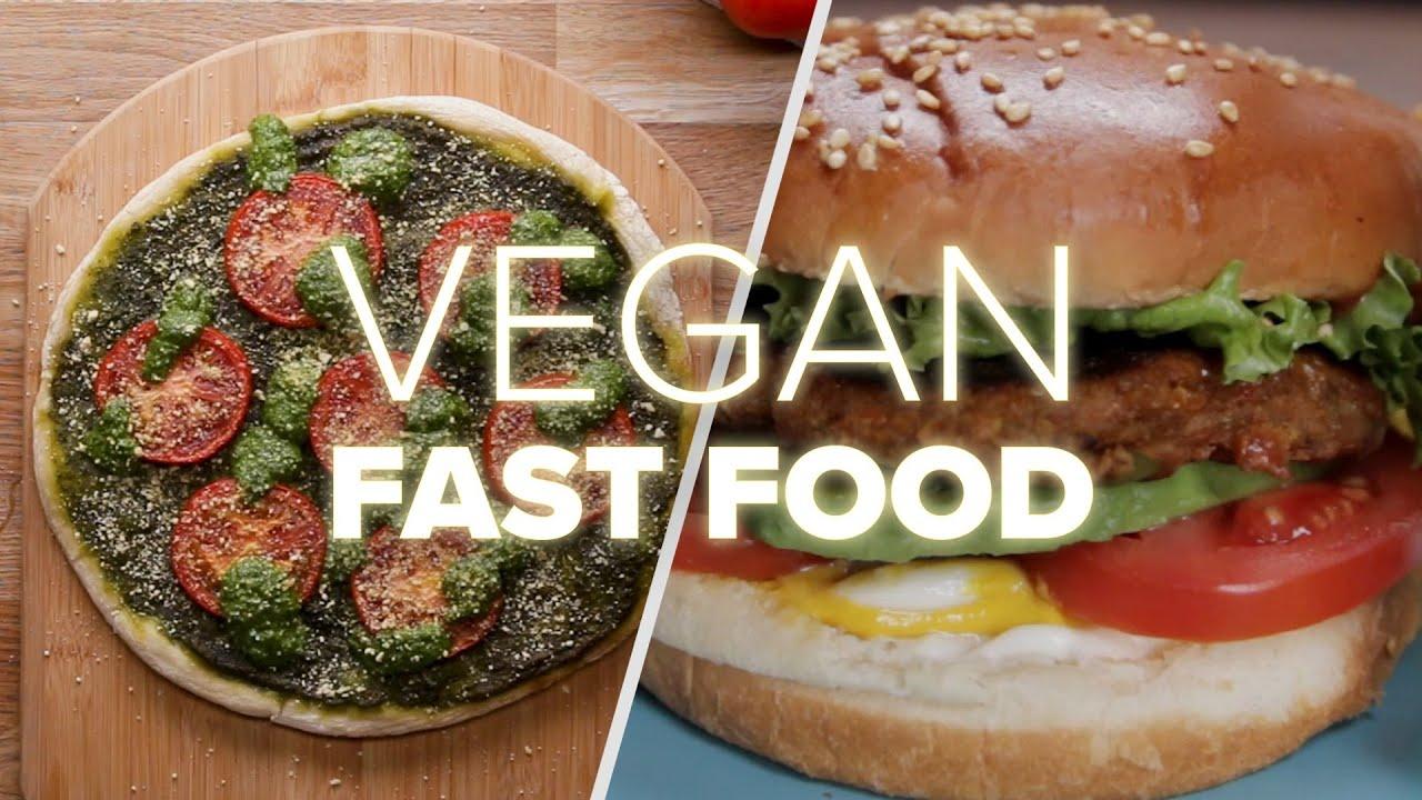 Homemade Vegan Fast Food Recipes