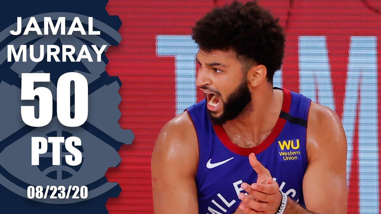Jamal Murray drops 50 points vs. Jazz [GAME 4 HIGHLIGHTS] | 2020 NBA Playoffs