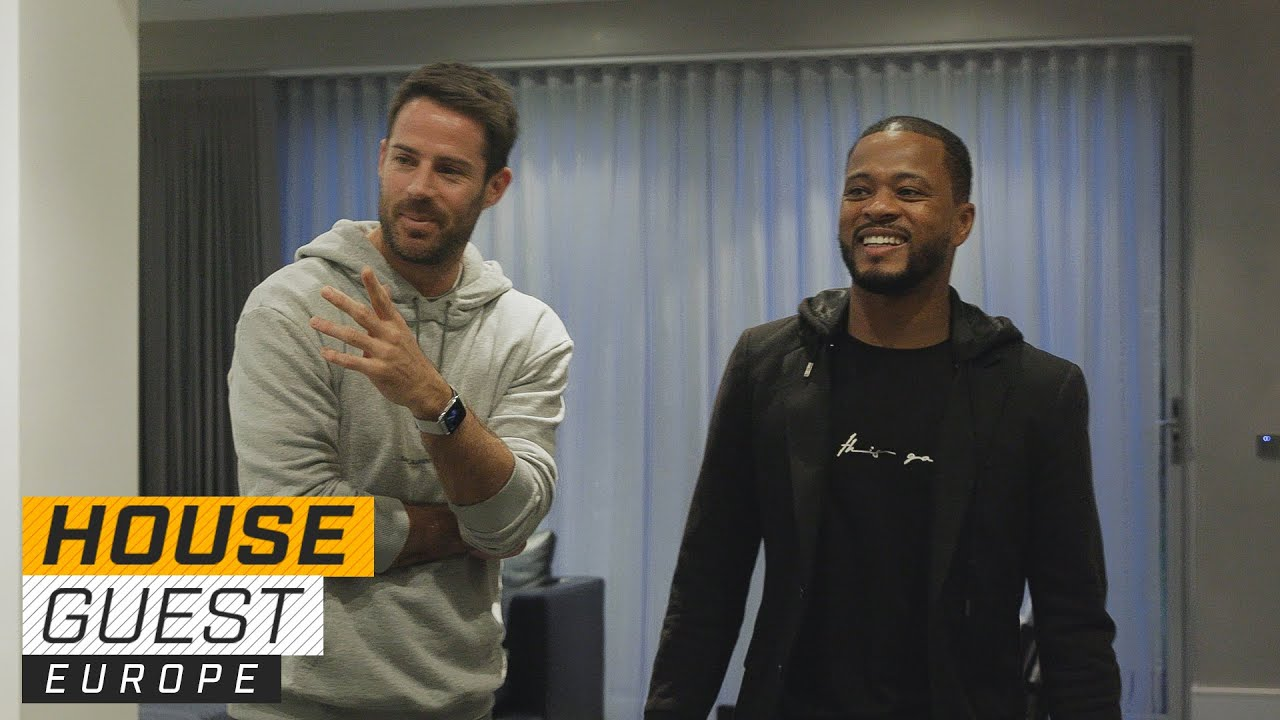 Jamie Redknapp's Family-Friendly Home   Houseguest With Patrice Evra   The Players' Tribune
