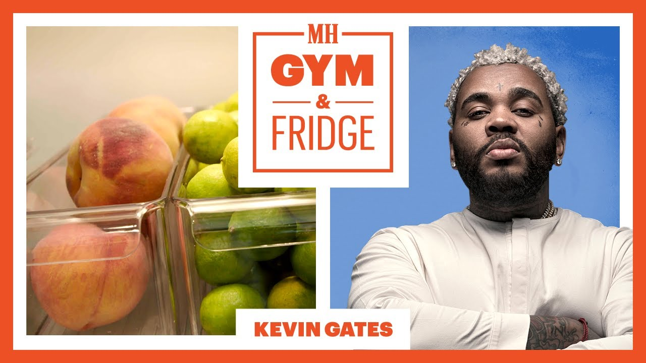 Kevin Gates Shows His Home Gym & Fridge   Gym & Fridge   Men's Health