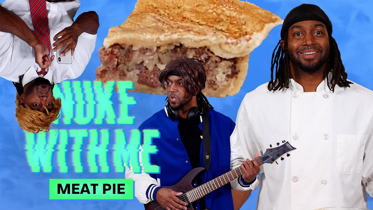 Marlon Makes Meat Pie in His Microwave | Nuke With Me