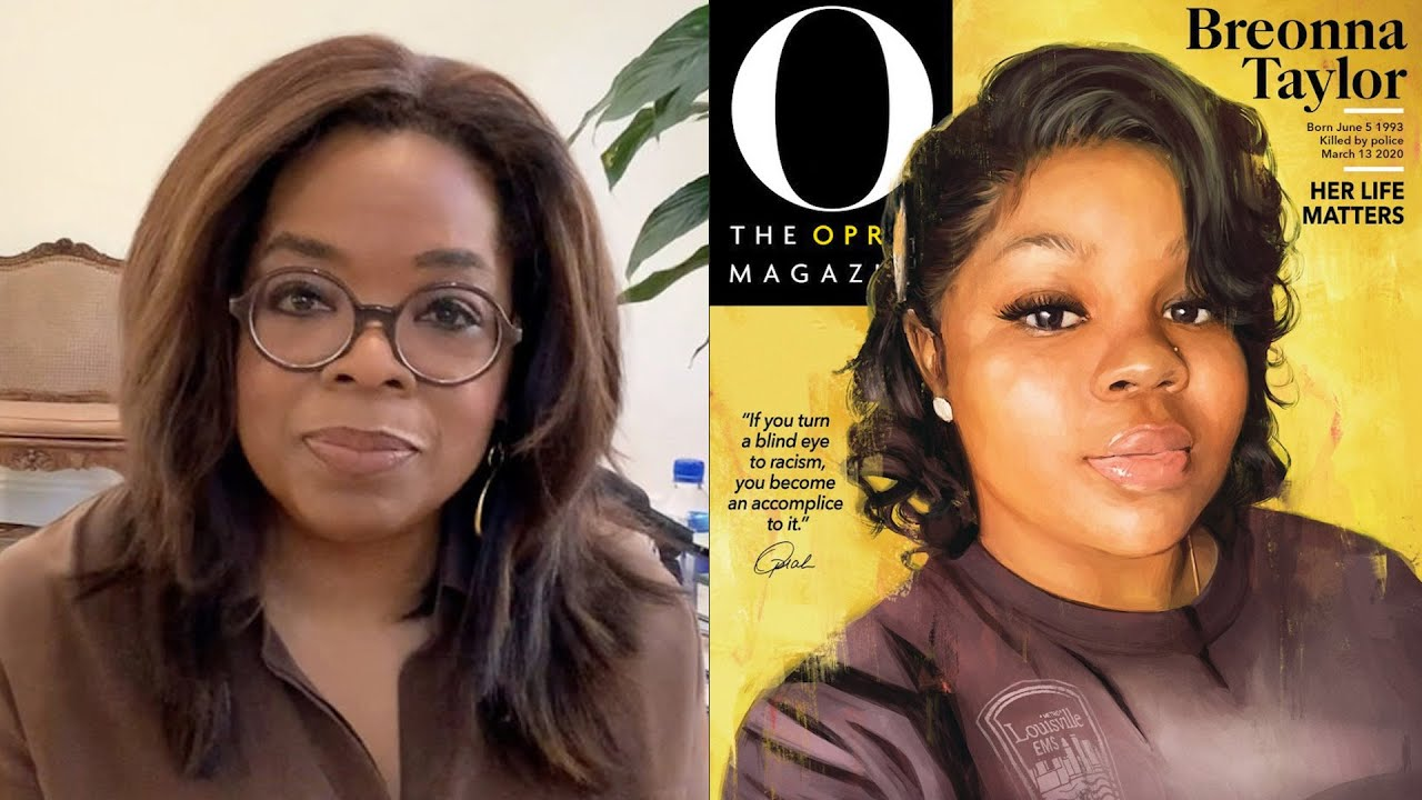 Oprah Just Did Something She's NEVER Done Before … All For Breonna Taylor!