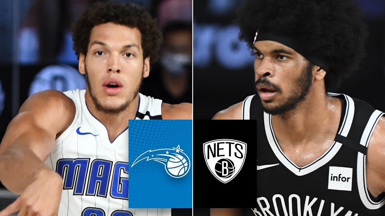 Orlando Magic vs. Brooklyn Nets   2019-20 NBA Highlights