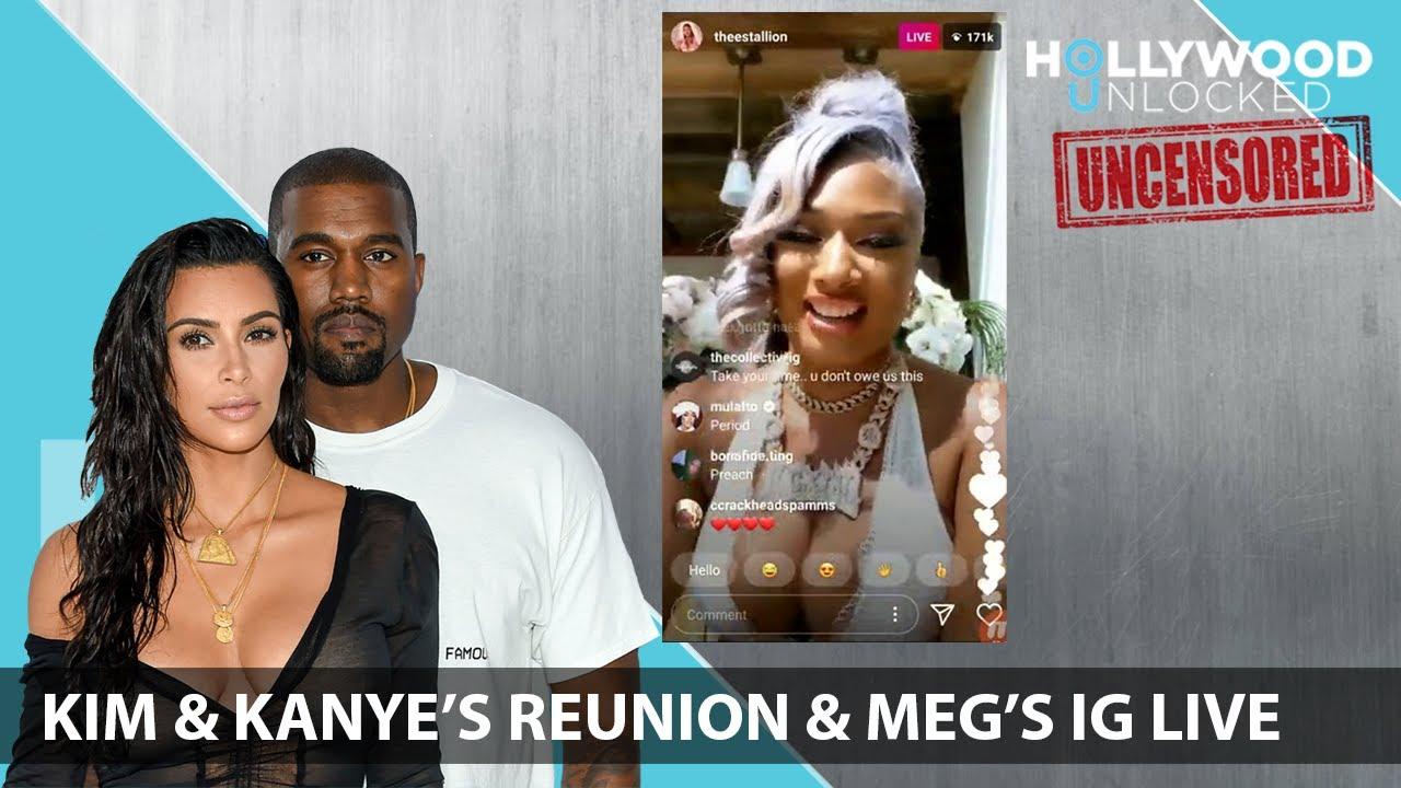 Reacting to Kim & Kanye's Tearful Reunion & Meg Thee Stallion's Live Hollywood Unlocked [UNCENSORED]