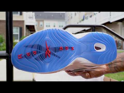 """Reebok Question Mid """"Red Toe"""" (Dope or Nope) Detailed .."""