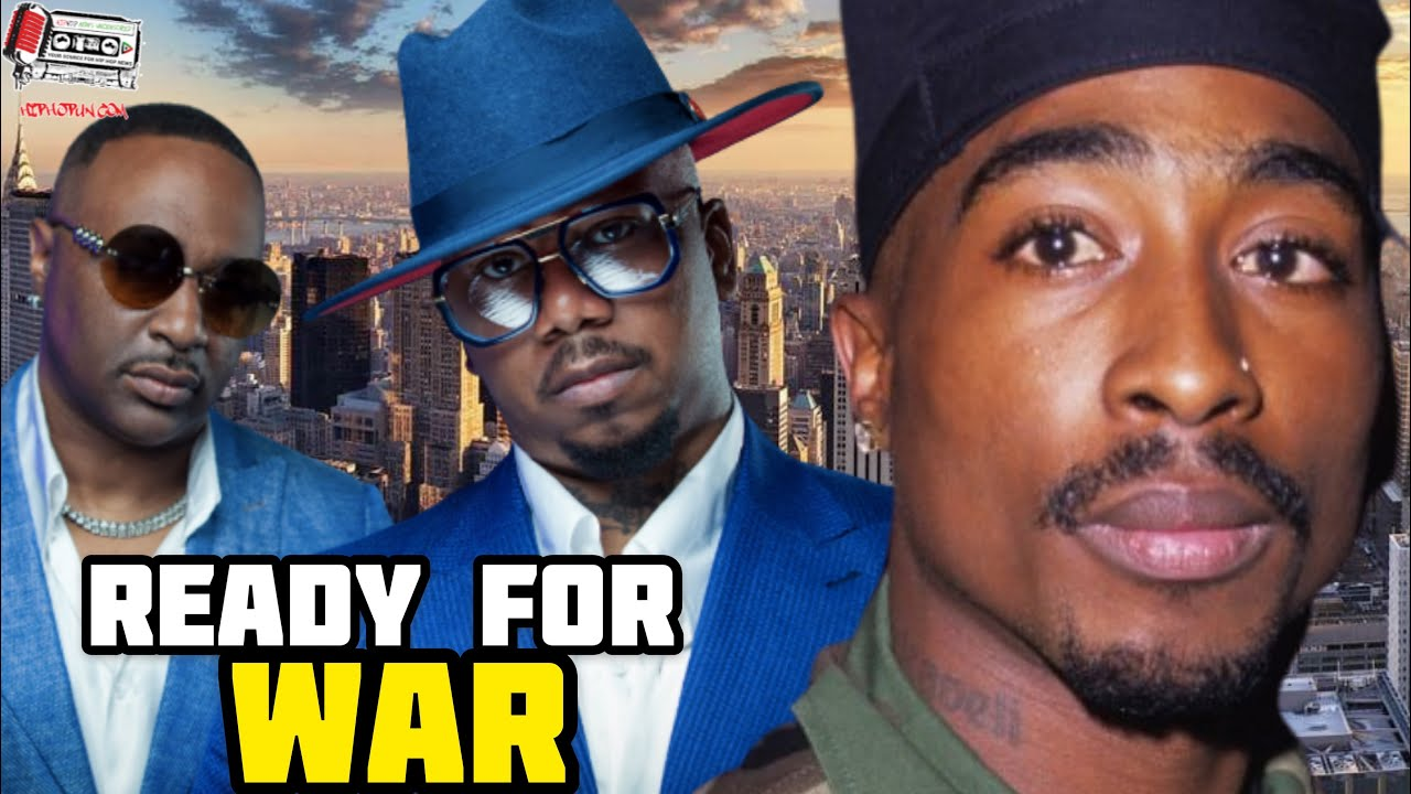 Slim & Mike Of 112 On Being Ready For WAR After 2pac Dropped Hit 'Em Up Diss Song!