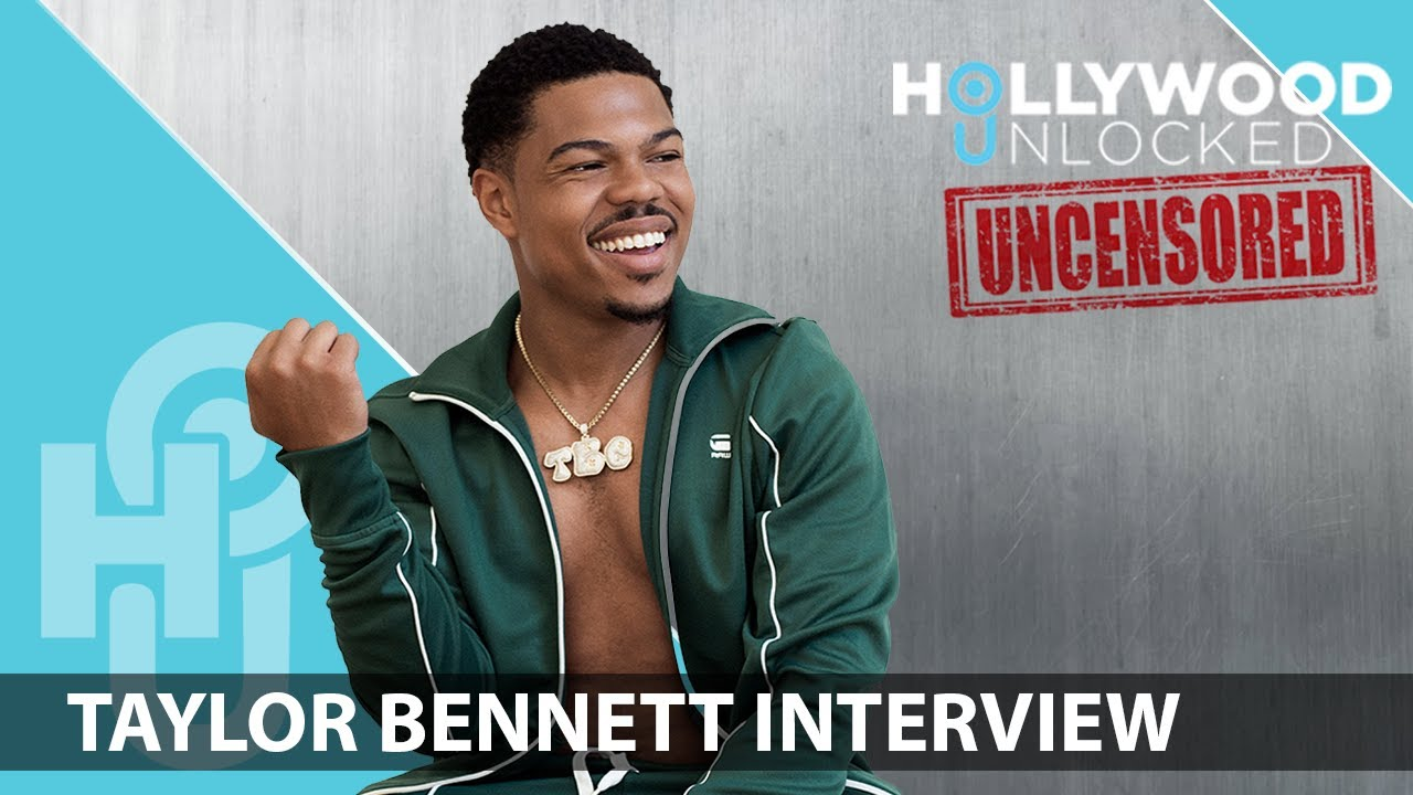 Taylor Bennett on Coming Out, Fitness Journey & Systemic Oppression; Hollywood Unlocked [UNCENSORED]