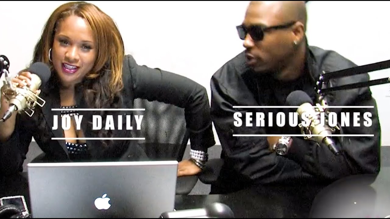 The Joy Daily Show LIVE with Rapper Serius Jones and Jack Thriller