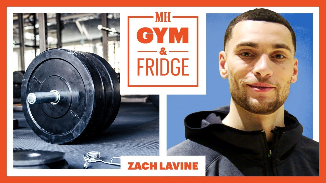 Zach LaVine Shows His Gym & Fridge | Gym & Fridge | Men's Health