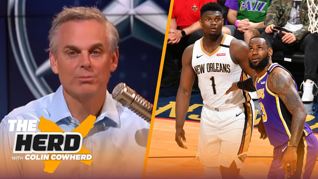 Zion is more efficient than LeBron, Anthony Davis too chill for title run — Colin | NBA | THE HERD