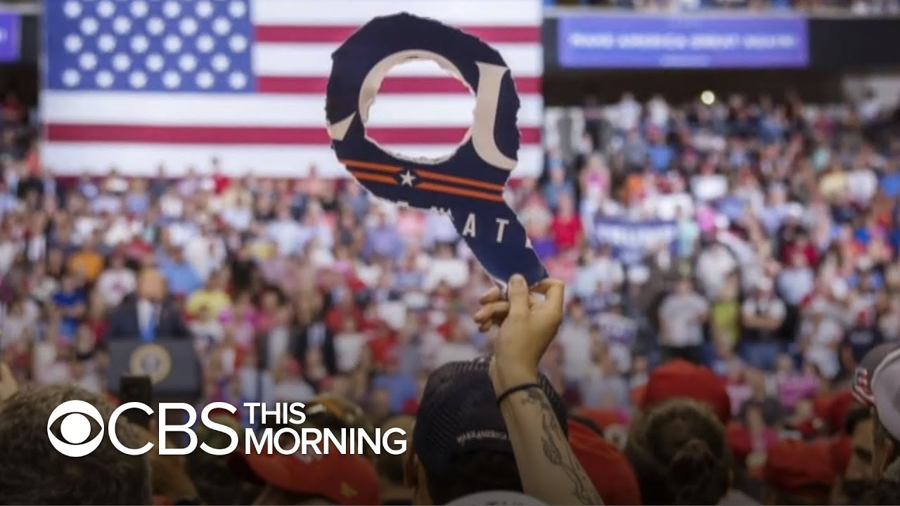 """""""60 in 6"""" gets inside look at QAnon, speaks with a leader in the movement"""