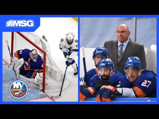 Barry Trotz Proud of Nelson and Varlamov's Leadership | New York Islanders