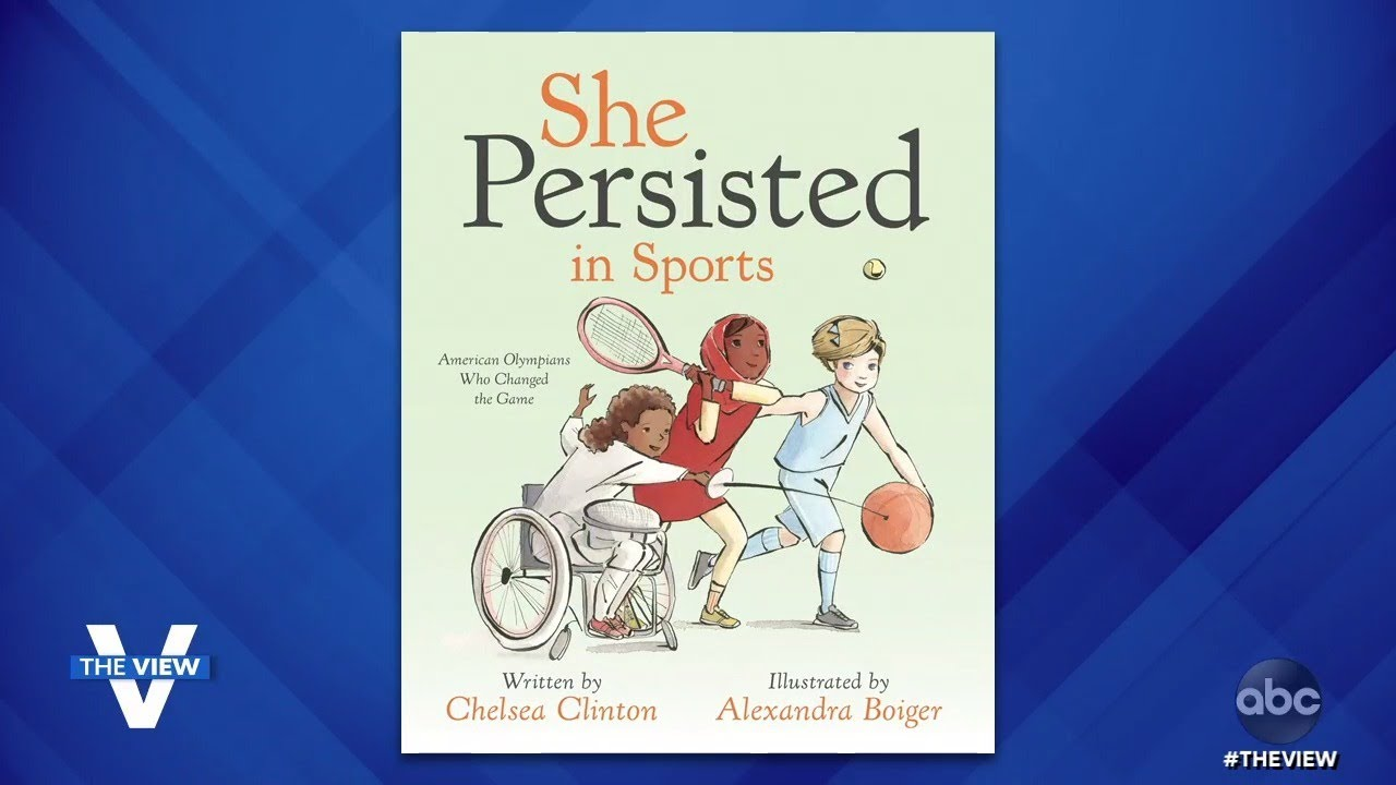 """Chelsea Clinton Shares About New Children's Book """"She Persisted in Sports"""" 