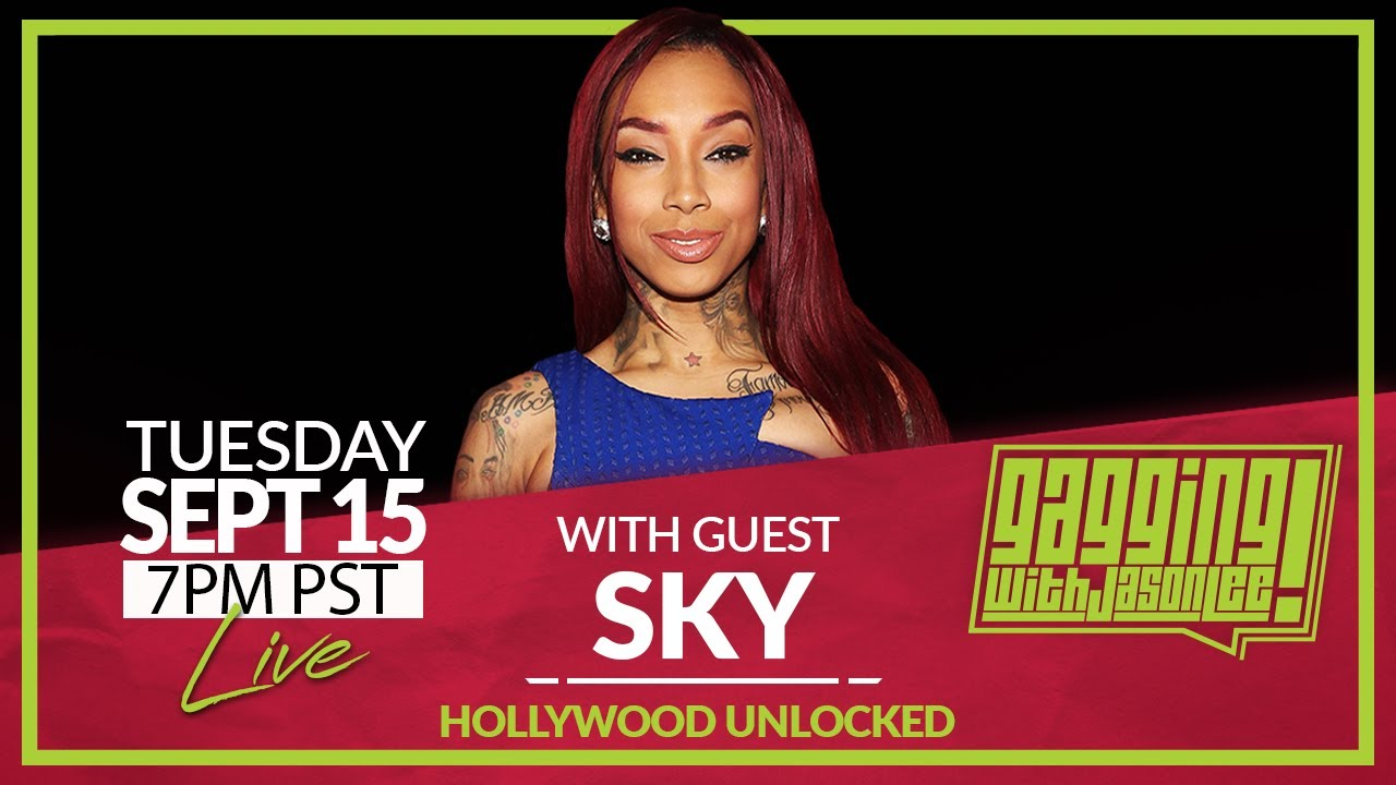 Gagging with Jason Lee featuring Sky from Black Ink Crew