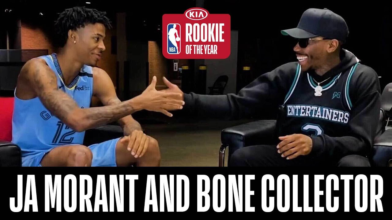 Ja Morant & @BoneCollectorUnlimited Relive His Rookie Season!