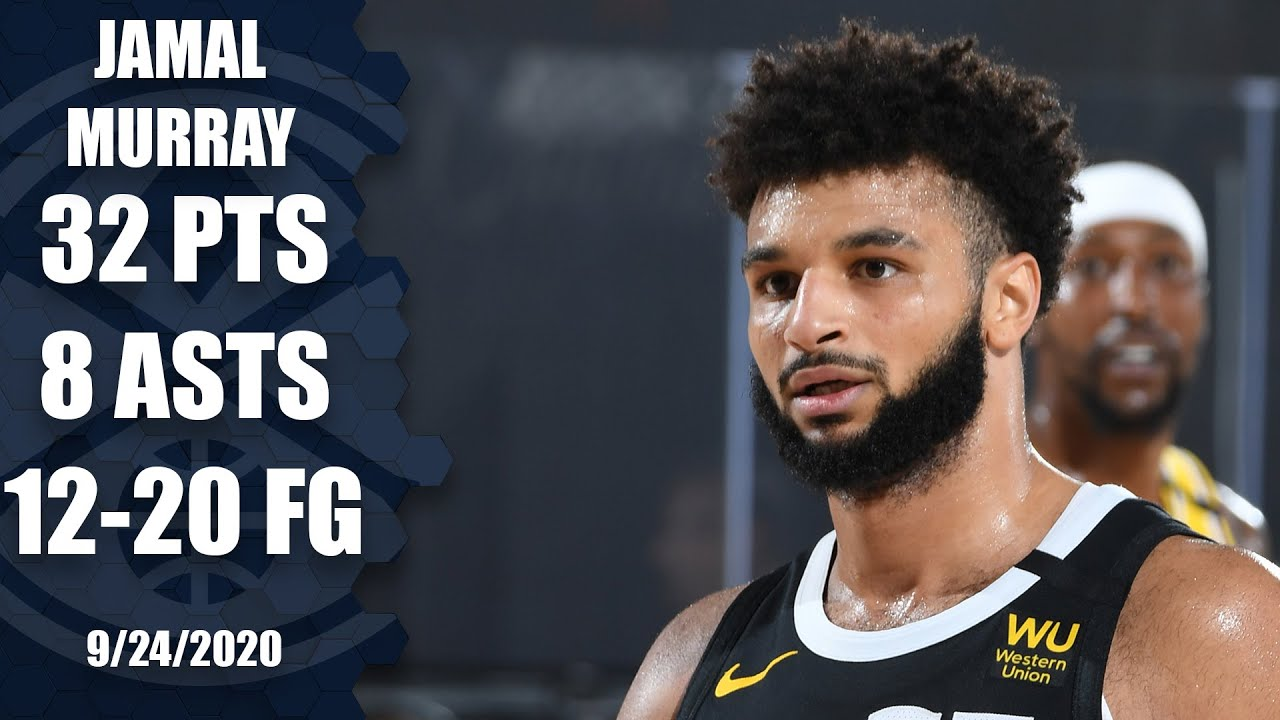 Jamal Murray goes off for 32 points [GAME 4 HIGHLIGHTS] | 2020 NBA Playoffs